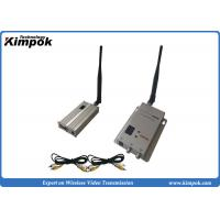Buy cheap 900Mhz Long Range Wireless Video Transmitter and Receiver 3-4km for CCTV Surveillance from wholesalers