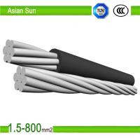 Buy cheap ACSR Multi Strand Steel Wire, Galvanized Stay Wire, Bare Conductor Cable from wholesalers