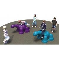 Buy cheap LLDPE Plastic Small Playground Equipment Dinosaur Theme Max Load Bearing 2000KG from wholesalers