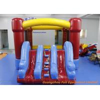 Buy cheap PVC Inflatable Bouncy Castle For Kids , Indoor Inflatable Trampoline Bouncer from wholesalers
