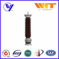 Buy cheap Electrical Porcelain Surge Arrester 66KV Overvoltage Protection Device from Wholesalers