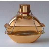 Buy cheap 60 ML Color Coating Empty Perfume Bottle with FEA15 MM Aluminum Collar and perfume pump from Wholesalers