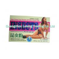 Buy cheap Natural, Safe Insects Powder Female Sex Enhancements For Vagina Relaxtion, Astringent from Wholesalers