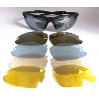Buy cheap Fashionable UV400 Interchangeable Lenses Sunglasses with Polycarbonate lens from wholesalers