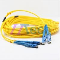 Buy cheap 9/125 Singlemode E2000 Fiber Optic Patch Cord from Wholesalers