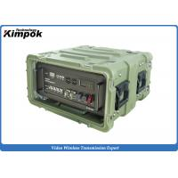 Buy cheap 100W FDD-COFDM Ethernet Radio Full Duplex Long Range Bi-directional Wireless Communication from wholesalers