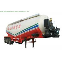 Buy cheap V Type Tank Semi Trailer 50 - 55 M3 , Dry Bulk Cement Trailers Heavy Duty from Wholesalers