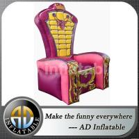 Buy cheap HOT sale inflatable king throne chair from Wholesalers