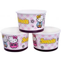Buy cheap 8oz 12oz Custom Printed Ice Cream Containers , Disposable Ice Cream Bowls from Wholesalers