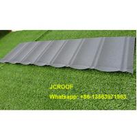 Buy cheap 0.45mm / 0.5mm Stone Coated Steel Roof Tiles with 50 Years Warranty from Wholesalers