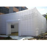 Buy cheap Marquee Reinforced Seam Inflatable Event Tent PVC Stretch Building Tent With Door And Windows from Wholesalers