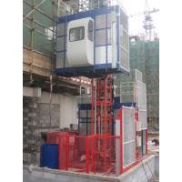 380V 50HZ / 60HZ Construction Material Hoists 1000KGS With Double Cage