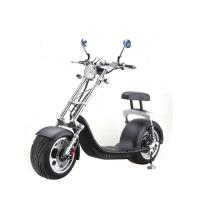 Quality 1000 W 60v 12ah Lithium Battery 2 Wheel Electric Scooter , Electric Harley Scooter wholesale
