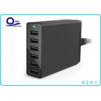 Buy cheap Multiple USB Charger 50W 10A Travel Wall Charger with 6 Ports for Quick Charge from Wholesalers