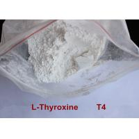 Buy cheap High Purity Safe Weight Loss Drug Levothyroxine T4 Powder CAS 51-48-9 from Wholesalers