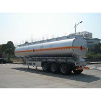 46000L Aluminum Alloy Oil Tank Semi Trailer