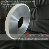 Buy cheap Vitrified bond Diamond Centerless Grinding Wheel for Grinding the Cylinder of PDC from Wholesalers
