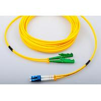 Buy cheap LC / UPC - E2000 APC Fiber Optic Patch Cable, Singlemode 9/125 OS2, Duplex from wholesalers