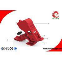 Buy cheap LOTO Electric Switch Lockouts Tagout Universal Mini Circuit Breaker Lockout from wholesalers