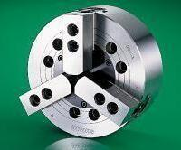 Buy cheap KM 3 Jaw hydraulic power chuck for cnc lathe from wholesalers