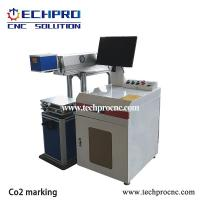 Buy cheap High precision Co2 laser marking machine for nonmetal TPJ-80w from Wholesalers