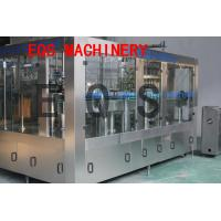 3 in 1 Carbonated Drink Filling Machine Sus 304 Material With Washer / Filler / Capper