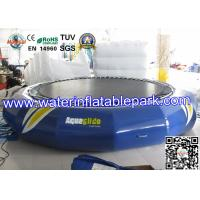 Buy cheap Exciting Inflatable Water Trampoline  , Inflatable Water Park For Lake from Wholesalers