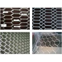 Quality Stretch Weave Expanded Steel Diamond Mesh / Aluminum Expanded Mesh For Curtain Wall for sale