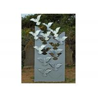 Buy cheap Flying Large Metal Lawn Sculptures Animal Statue Wall Decoration Modern from Wholesalers