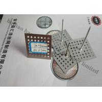 Buy cheap Perforated Base Insulation Fixing Pins For Reinforceing Sound Absorbing Fabrics from Wholesalers