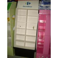 Buy cheap Free standing Corrugated POP Displays of Floor Standing Unit with showcases from Wholesalers