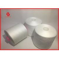 Quality Paper / Plastic Cone Spun Polyester Yarn For Sewing , Ployster Staple Fiber Yarn for sale