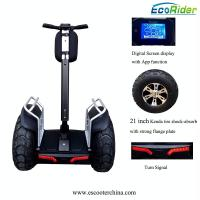 Quality E8-2 4000w Double Battery Two Wheels Electric Chariot Scooter With 21 Inch Tire wholesale