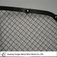 Buy cheap Stainless Steel Wire Mesh Car Grill|Crimped With Opening 7/16