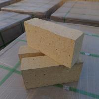 Buy cheap Customized Size Heat Resistant Bricks , High Alumina Fire Bricks Natural Yellow Color from Wholesalers