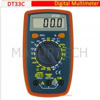 Quality 3 1/2 Digital Multimeter 200mV-500V DT33C for sale