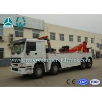 Hydraulic System Fast Speed Rotatable HOWO Recovery  Truck Low Fuel Consumption