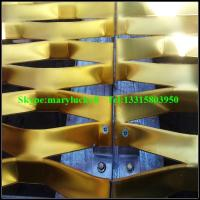 Buy cheap Anodized aluminum expanded mesh/5052 Expanded aluminum mesh from Wholesalers