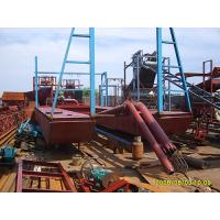 Buy cheap jet suction gold dredger equipped with panning unit from Wholesalers