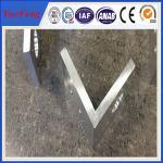 Buy cheap aluminium profile corner joint / aluminum corner profile / aluminium rectangular extrusion from Wholesalers