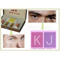 Buy cheap IR Marked Cards Contact Lenses Poker Reader For Cheating Poker Games from Wholesalers