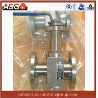 Buy cheap 1-pc Manul Flange Ansi 150# F304 Metal Seal Floating Ball Valve- Ball Valve-Valve-ASG from Wholesalers