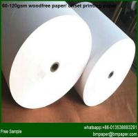China Offset Printing Paper Roll 100g on sale