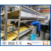 Buy cheap Orange Juice Manufacturing Process Orange Processing Plant , Orange Juice Making Machine from Wholesalers