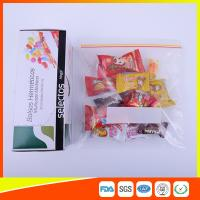Buy cheap Durable Plastic Ziplock Snack Bags For Candy / Biscuits Storage Food Grade from Wholesalers