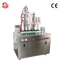 Quality Pneumatic Drive Oxygen Gas Spray Can Filling Machine With PLC Control System wholesale