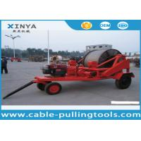 Buy cheap 3 - 8T Multi function Full Cable Drum Trailer Machine for electric power construction from wholesalers