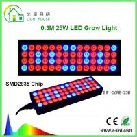Buy cheap Reflector 25w Led Weed Growing Lights , Square Red Led Plant Grow Lights  from Wholesalers