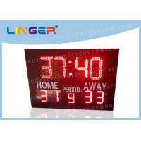Quality 12'' and 16'' inch Digits in Red Color Led Electronic Horse polo Scoreboard for Customized Design wholesale