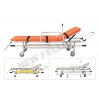 Low Position Adjustable Emergency Rescue Ambulance Stretcher For Fire Scene